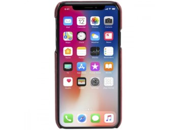 Krusell APPLE iPhone X Sunne 2 Card Cover Czerwony
