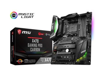 MSI X470 GAMING PRO CARBON 4DDR4 USB3.1/2M.2/8SATA3