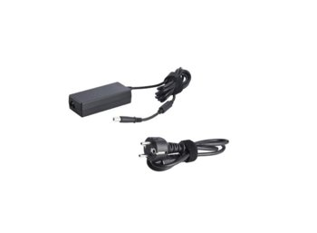 Dell Power Supply: EU 65W AC Adapter with power cord (kit)
