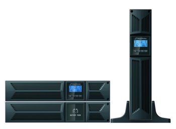 PowerWalker UPS POWER WALKER ON-LINE 1500VA 8X IEC OUT, USB/RS-232, LCD,     RACK 19''/TOWER, POWER FACTOR 0,9