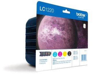 Brother Multipack  LC1220 CMYK do DCP-J525W/x25DW/MFC-430W