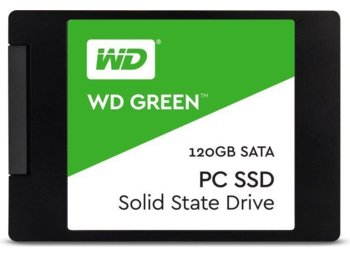 Western Digital Dysk SSD Green WDS120G2G0A 120 GB 2,5 3D