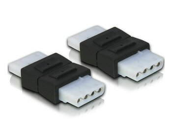Delock Adapter Molex 4Pin F/F