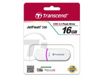 Transcend JETFLASH 330 16GB USB2.0 WHITE