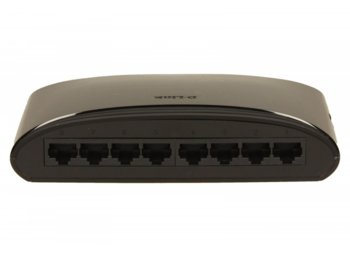 D-Link DES-1008D switch L2 8x10/100 Desktop/Wall NO FAN