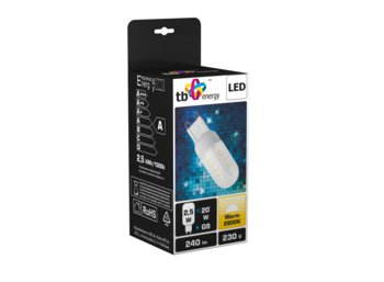 TB Energy LED TB Energy G9 230V 2.5W Bialy cieply