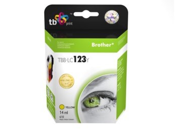 TB Print Tusz do Brother LC123 TBB-LC123Y YE