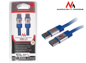 Maclean Kabel USB 3.0 Am-Am 1.8m MCTV-606