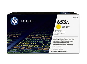 HP Toner 653A Yellow 16.5k CF322A