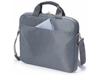 "DICOTA Slim Case BASE 14-15,6"" grey/blue"