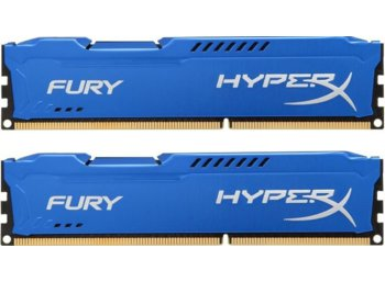 HyperX DDR3 Fury  8GB/ 1600 (2*4GB) CL10
