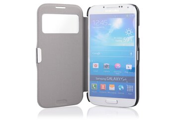 Global Technology FLIP CASE MAGNETIC SAMSUNG i9500 S4 czarny