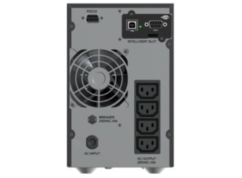 PowerWalker UPS ON-LINE 1000VA 4X IEC OUT, 2X RS-232/1X USB, LCD, TOWER