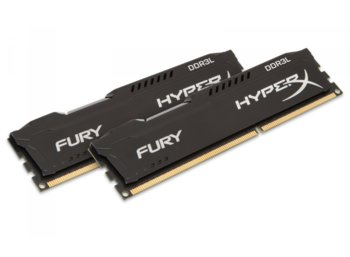 HyperX DDR3 HyperX Fury 16GB/1600(2*8GB) CL10 BLACK LV