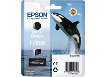 Epson T7608 Ink Cartridge Matte Black UltraChrome HD