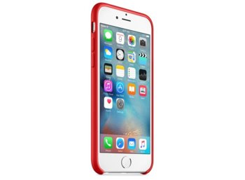Apple iPhone 6s Silicone Case (PRODUCT)RED   MKY32ZM/A