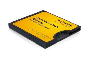 Delock Adapter karty SD/MMC->CompactFlash II