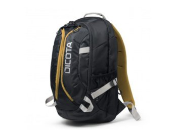 DICOTA Backpack Active 14-15.6'' Black/Yellow whit HDF