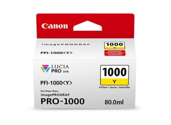 Canon PFI-1000 YELLOW NON-BLISTER 0549C001