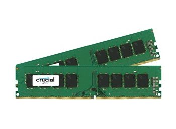 Crucial DDR4 16GB/2400(2*8GB) CL17 SR x8 Unbuffered DIMM 288pin