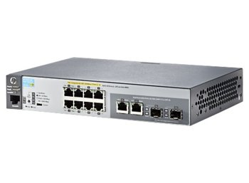 Hewlett Packard Enterprise ARUBA 2530-8G-PoE+ Switch J9774A - Limited Lifetime Warranty