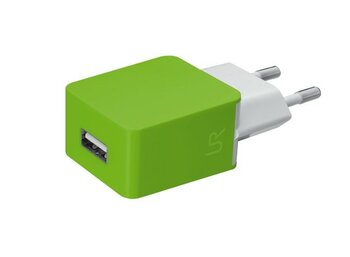 Trust UrbanRevolt 5W Wall Charger - lime green