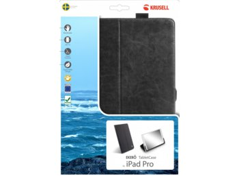 Krusell Apple iPad PRO EKERO Tablet Etui Czarne