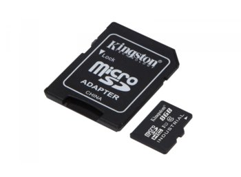 Kingston microSD 8GB CL10 UHS-I 90/20MB/s Industrial
