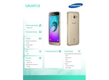 Samsung GALAXY J3-2016 GOLD