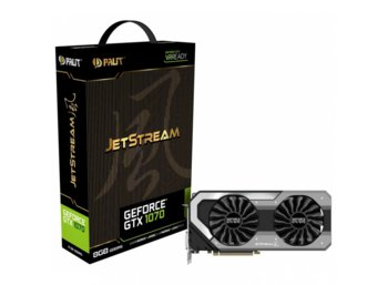 Palit GeForce GTX 1070 JetStream 8GB DDR5 256BIT DVI/3DP