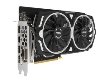 MSI GeForce CUDA GTX1060 ARMOR OCV1 6GB 192BIT DVI/2HDMI/2DP