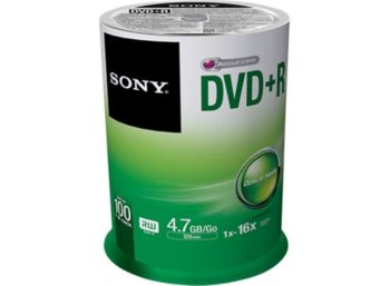 Sony DVD+R 16x 4.7GB (100 CAKE)