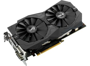 Asus GeForce CUDA GTX 1050 TI O 4GB 128BIT DVI/HDMI/DP