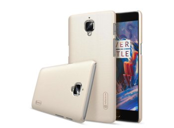 Nillkin Frosted Oneplus 3 A3000 Champagne Gold