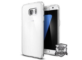 SPIGEN SGP  Ultra Hybrid Crystal Clear Etui Galaxy S7 EDGE