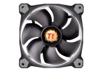 Thermaltake Wentylator Riing 14 LED White (140mm, LNC, 1400 RPM) Retail/Box