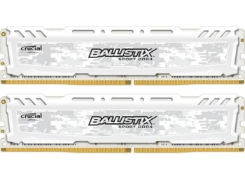 Crucial DDR4 16GB/2666(2*8GB) CL16 DR x8 288pin