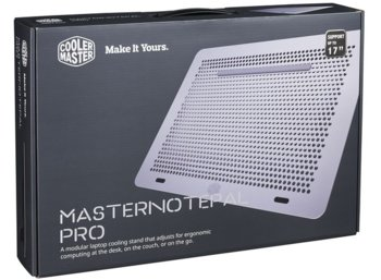 Cooler Master Podstawka pod laptop MasterNotepal Pro (USB 3.0     do 17'')