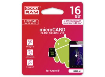 GOODRAM microSD 16GB CL10 UHS-I Android