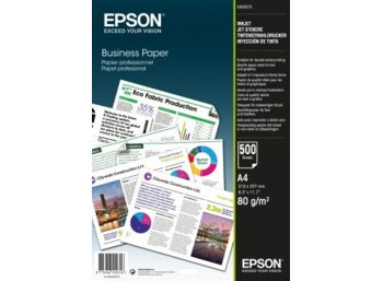 Epson Business Paper 80gsm 500 sheets