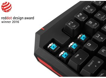 RAMPAGE KB-R05 EAGLE LED Blue Kailh Reddot Award