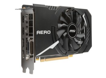 MSI GeForce GTX 1060 AERO ITX 6GB 192BIT DVI-D/2HDMI/2DP