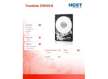 HGST Travelstar Z7K500.B 500 G 7200rpm SATA3 7mm 32MB