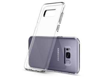 SPIGEN SGP  Liquid Crystal Clear Etui Galaxy S8+