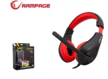 RAMPAGE SN-R2 Gaming Headset Black