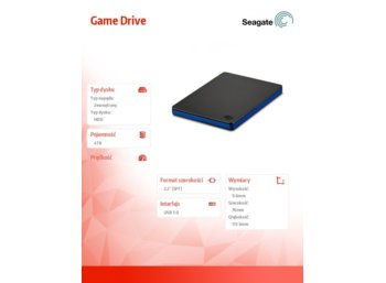 Seagate Game Drive for Playstation 4 4TB STGD4000400