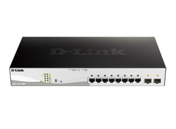 D-Link DGS-1210-10MP 8x1Gb PoE+ 2xSFP