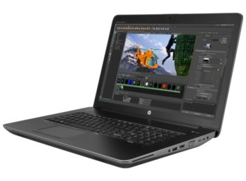 HP Inc. ZBook17 G4 i7-7700HQ 256/16/W10P/17,3 1RQ79EA